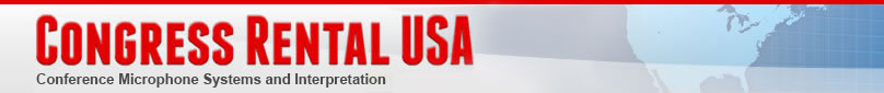 Congress Rental USA Logo - Language Solutions for the Digital Age